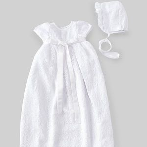 Baby Girl Lace Christening Godwin - Baptism Gown
